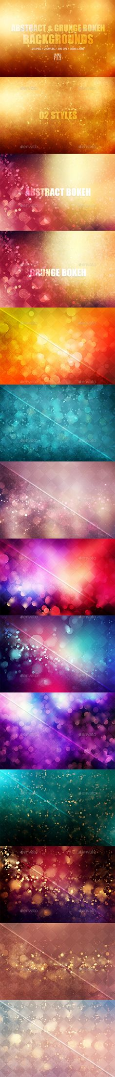 24 Bokeh Backgrounds - 02 Styles. Download here: http://graphicriver.net/item/24-bokeh-backgrounds-02-styles/12034498?ref=ksioks