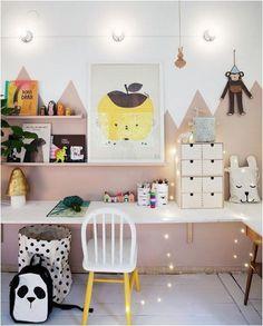 47 Comfy Kids Study Room Design Ideas For Kids - -