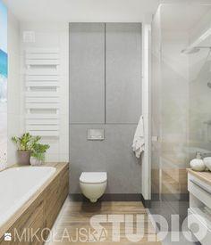 łazienka_wanna_zabudowa - zdjęcie od MIKOŁAJSKAstudio