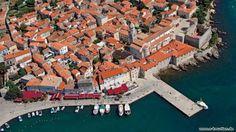 Die größte Stadt auf der Insel Krk  http://www.e-kroatien.de/kvarnerbucht/krk  #kroatien #krk #kvarner