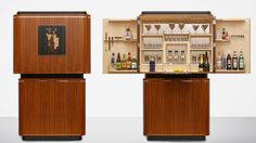 LINLEY | Tini Time Cocktail Cabinet