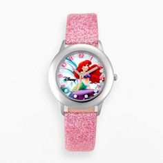 Disney Princess Watch - Juniors' Ariel Leather