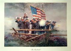 Federal (Union) infantry, by Dale Gallon