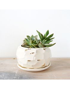 The Object Enthusiast - Facet Vessel No. Shops, Planter Pots, Clay, Decoration, Inspiration, Home Decor, Homes, Presents, Clays