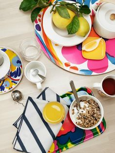 Marimekko Karuselli tray - colourful tableware and trays on The Life Creative