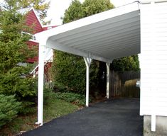 carport attached to side of house - Google Search