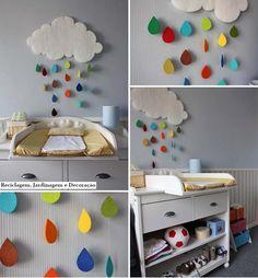 #DIY nube para decorar cuarto infantil