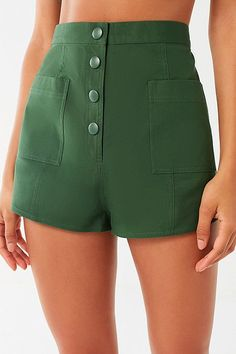 Shorts for Women Short Outfits, Cool Outfits, Summer Outfits, Teen Fashion, Fashion Outfits, High Rise Shorts, Hot Pants, Aesthetic Clothes, Diy Clothes
