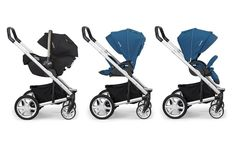The Nuna MIXX Stroller is the great new addition to the Nuna family and the popular Nuna PIPA infant car seat. This stroller is designed not only to have your tiny rider facing you or out, but to fold