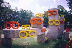 Deepika Kamaiah and Sumanth Gopi, Bangalore Mehndi Decor, Mehendi, 2017 Wedding, Wedding Trends, Wedding Backdrops, Wedding Decorations, Mehndi Function, February Wedding, Flower Rangoli