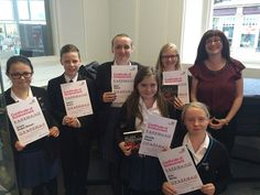 The Sunderland Pupil Librarian Award scheme organised by Sunderland Schools Library Service celebrates the achievements of pupil library assistants in local school libraries. Pictured with their certificates at the special awards evening are Farringdon Community Academy pupil librarians with their proud librarian Beverley! If you look closely you can see that they are wearing their MLS pupil librarian badges too.