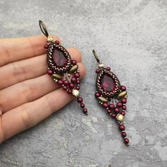 CEALXHENY Beaded Hoop Earrings for Women Mixed Color Bead Dangle Earrings Bohemia Hoop Dangle Earring Studs for Girls (A Mixed Color) – Fine Jewelry & Collectibles Beaded Jewelry, Handmade Jewelry, Beaded Bracelets, Handmade Wire, Wire Jewelry, Seed Bead Earrings, Women's Earrings, Earrings Online, Earring Tutorial