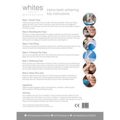 Whites Home Teeth Whitening Kit – Whites Beaconsfield Teeth Whitening Methods, Home Teeth Whitening Kit, White Smile, Sodium Bicarbonate, White Teeth, Key Ingredient, Vegan Friendly, At Least