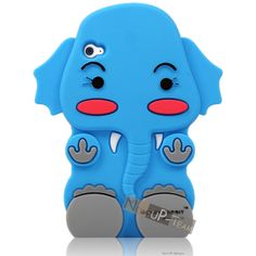 ebay cases for ipod4 | ... Baby Elephant Silicone Soft Back Cover Case for iPod Touch 4 4G | eBay