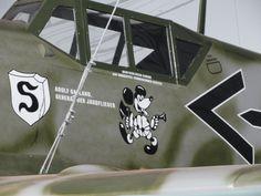 Me 109 de Adolf Galland - réplica Adolf Galland's Me 109 - replica