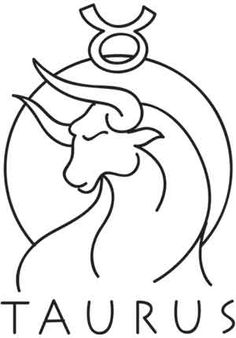 Zodiac - Taurus UTH1545 Those born under the sign of the bull, from April 20-May 20, are said to be endlessly patient, with a strongly cautious and persistent personality.