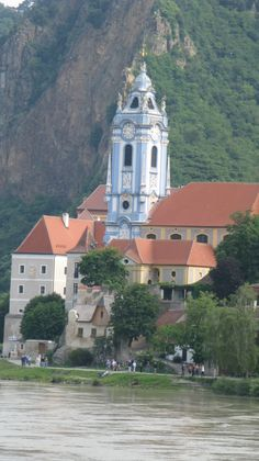 Dürnstein, along the Danube (ruin where Richard the Lionheart was imprisoned is on a hilltop nearby)