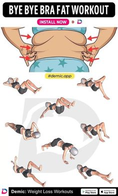 Bye Bye Bra Fat Workout