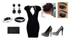 """""""black"""" by abbiemay85 on Polyvore"""