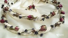 Stefana Greek Wedding Crowns Lavender N378