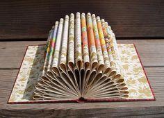 Book Art - Rubaiyat Double. $55.00, via Etsy.