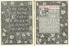 """The Kelmscott Press, de William Morris: """"El trabajo es un bien cuando le acompaña la esperanza debida de descanso y de placer"""""""