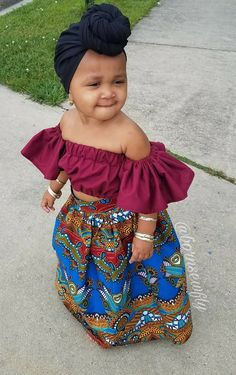 Every kid needs to look good everytime that's why we are bringing to you the unique ankara styles for your kids. Baby African Clothes, African Dresses For Kids, African Babies, African Children, African Fashion Dresses, Cute Baby Clothes, Cute Kids Fashion, Baby Girl Fashion, Little Girl Outfits