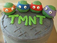 TMNT cake.