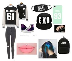 """""""Kpop swag"""" by diamondis145 ❤ liked on Polyvore featuring Topshop, kpop, EXO, gdragon, bts, GOT7 and gotquestionsallday"""