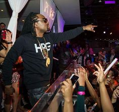 Hip-Hop Artist Wale Performs at #PURE Nightclub for Skullcandy CES After-Party on 1/8/13