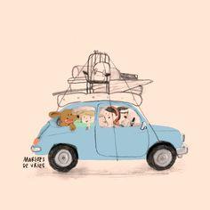 Pretty Gif, Animation Stop Motion, Illustrators On Instagram, Work Inspiration, Children's Book Illustration, Cute Drawings, Book Design, Childrens Books, Ideas