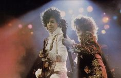 Wendy Melvoin Prince | Prince & Wendy Melvoin, Purple Rain tour 1984-85