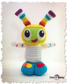 FREE PATTERN Robot Bobe #robot #crochet #pattern #amigurumi #bebo #diy #free