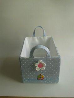 cesta en pique azul https://www.facebook.com/pages/Cajasenteladas/565939910162236