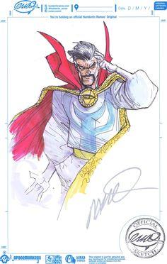 Doctor Strange by Humberto Ramos *