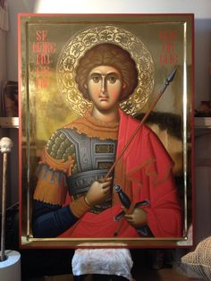 Byzantine Icons, Byzantine Art, Orthodox Christianity, Saint George, Orthodox Icons, Religious Art, Religion, Spirituality, Artwork