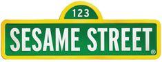 Sesame Street Sign Template