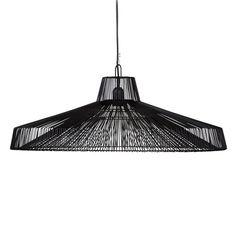 Iron Hanging Lamp IV Black