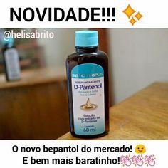 Serum Hidratante D-Pantenol Salon Opus é bom, funciona mesmo. Versão Baratinha do Bepantol.