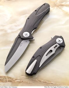 "Kershaw Zero Tolerance ZT 0777. Won the ""Overall Knife of the Year"" award at Blade 2011, still waiting for the production run to be released."