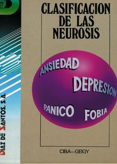 Clasificación de las neurosis / Peter Tyrer