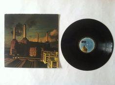 Pink Floyd - Animals_Vinyl Record LP_(JC 34474) Vinyl Music, Lp Vinyl, Vinyl Records, Classic Rock Albums, Pink Floyd, Animals, Ebay, Animales, Animaux