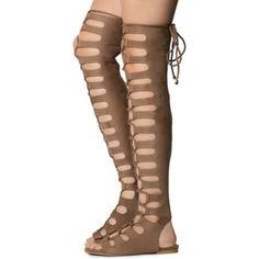 f83dfbaeefa Cape Robbin Women s Jovena-1 Gladiator Lace-Up Sandal