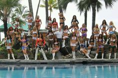 #2013 Pro Bowl cheerleaders....look who stands out.....Denver Broncos!!!