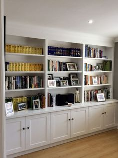 Home Office Shelf Ideas . Home Office Shelf Ideas . Home Fice Room Ideas Home D Create Stylish Productive Built In Shelves Living Room, Home Office Shelves, Living Room Bookcase, Bookcase Wall, Bookshelf Design, Bookshelves Built In, Living Room Storage, Home Living Room, Wall Shelving