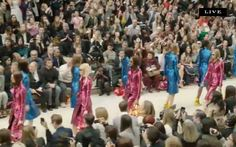 #Nordstrom livepin of @Burberry Spring 2013 from #LFW