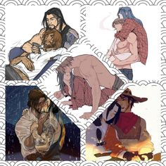 More McHanzo ❤️ (art isn't mine) image by Wafflepie. Discover all images by Wafflepie. Find more awesome mccree Overwatch Hanzo, Overwatch Comic, Overwatch Memes, Overwatch Fan Art, Hanzo Shimada, Lgbt, Overwatch Wallpapers, Good Omens Book, Min Yoonji