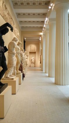 Pushkin museum of fine arts. Moscow. Russia.