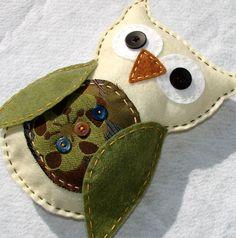 Felt Owl Plush