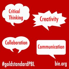 The Power of the 4Cs: The Foundation for Creating a Gold Standard for Project Based Learning (PBL) | Blog | Project Based Learning | BIE